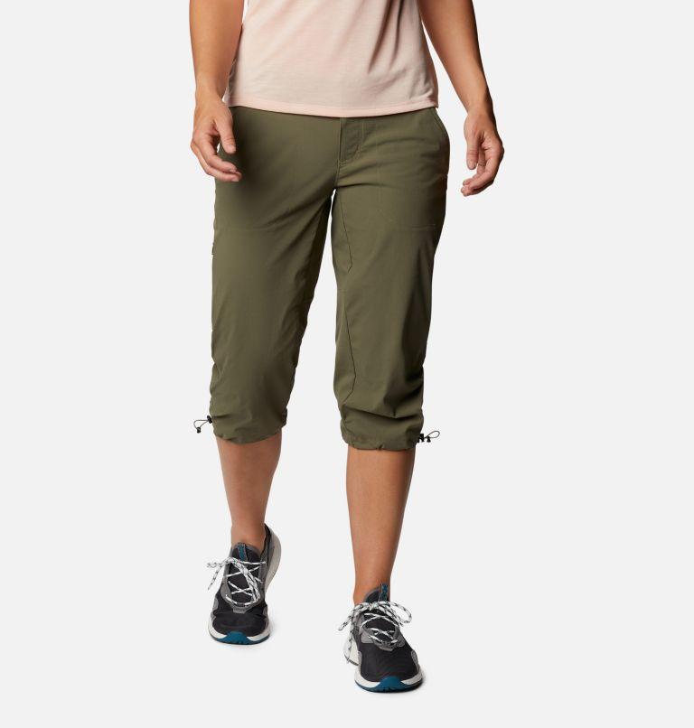 Saturday Trail™ II Knee Pant | 397 | 14 Women's Saturday Trail™ II Knee Pants, Stone Green, front
