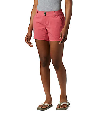 Shorts Extensible Saturday Trail™ Femme Saturday Trail™ Short | 653 | 14, Rouge Pink, front