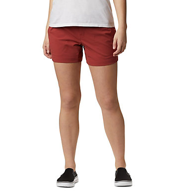 Shorts Extensible Saturday Trail™ Femme Saturday Trail™ Short | 653 | 14, Dusty Crimson, front