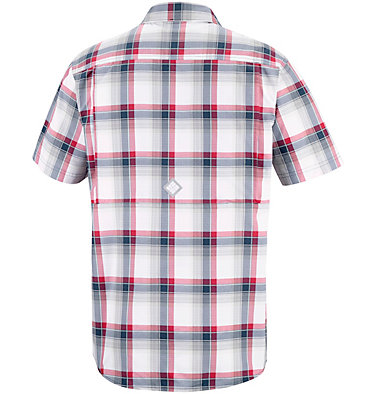 Men's Cascade Explorer™ Plaid Short Sleeve Shirt , back