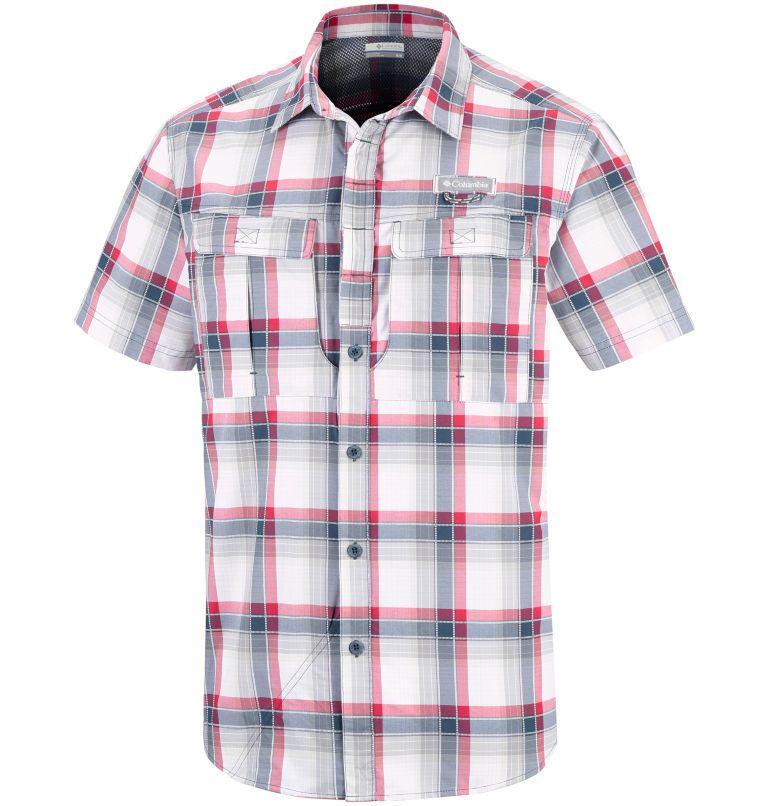 Men's Cascade Explorer™ Plaid Short Sleeve Shirt Men's Cascade Explorer™ Plaid Short Sleeve Shirt, front