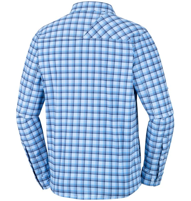 Triple Canyon™ Long Sleeve Shirt | 475 | S Men's Triple Canyon™ Long Sleeve Plaid Shirt, Yacht Plaid, back