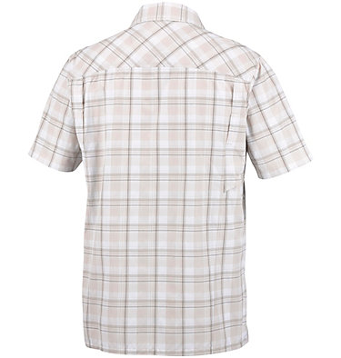 Men's Silver Ridge™ Plaid Short Sleeve Shirt , back