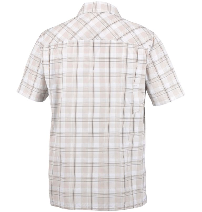 Men's Silver Ridge™ Plaid Short Sleeve Shirt Men's Silver Ridge™ Plaid Short Sleeve Shirt, back