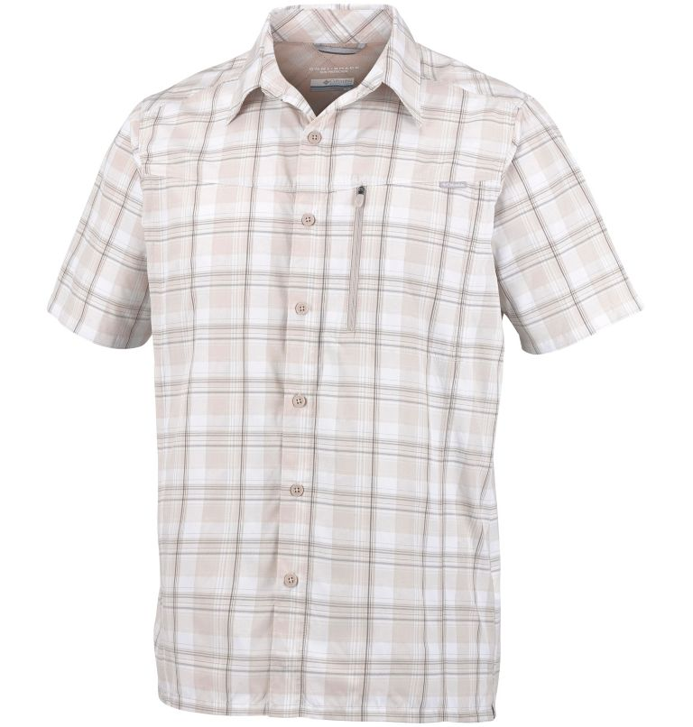 Men's Silver Ridge™ Plaid Short Sleeve Shirt Men's Silver Ridge™ Plaid Short Sleeve Shirt, front