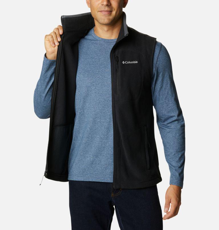 Fast Trek™ Fleece Vest | 010 | L Men's Fast Trek™ Fleece Vest, Black, a3