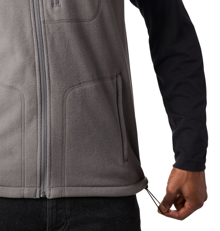 Fast Trek™ Fleece Vest | 023 | L Men's Fast Trek™ Fleece Vest, City Grey, a3