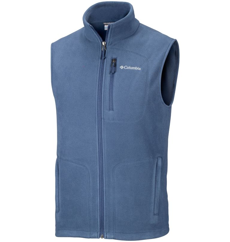 Fast Trek™ Fleece Vest | 478 | S Men's Fast Trek™ Fleece Vest, Dark Mountain, front