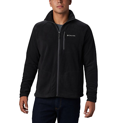 Men's Fast Trek™ II Full Zip Fleece  Fast Trek™ II Full Zip Fleece | 433 | S, Black, front