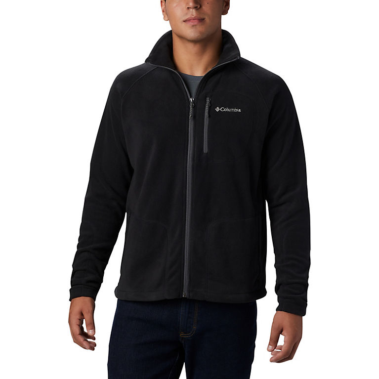 Black Men's Fast Trek™ II Full Zip Fleece, View 0