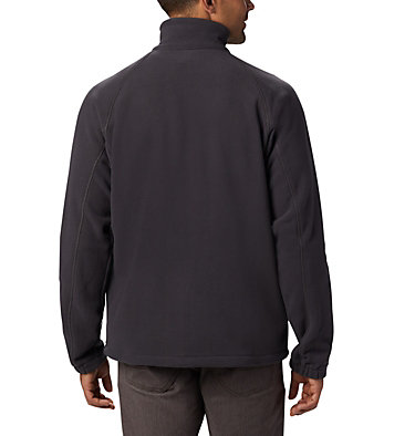 Men's Fast Trek™ II Fleece Jacket Fast Trek™ II Full Zip Fleece | 370 | XS, Shark, Black, back