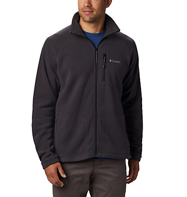 Men's Fast Trek™ II Fleece Jacket Fast Trek™ II Full Zip Fleece | 370 | XS, Shark, Black, front