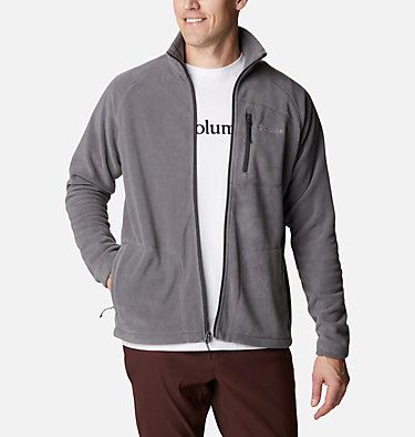 Men's Fast Trek™ II Fleece Jacket Fast Trek™ II Full Zip Fleece | 370 | XS, City Grey, front