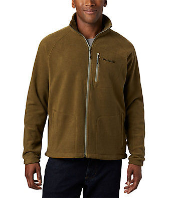 Men's Fast Trek™ II Fleece Jacket Fast Trek™ II Full Zip Fleece | 370 | XS, New Olive, front