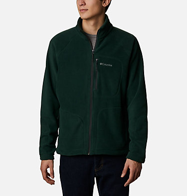 Men's Fast Trek™ II Fleece Jacket Fast Trek™ II Full Zip Fleece | 370 | XS, Spruce, front