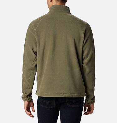 Men's Fast Trek™ II Fleece Jacket Fast Trek™ II Full Zip Fleece | 370 | XS, Stone Green, back