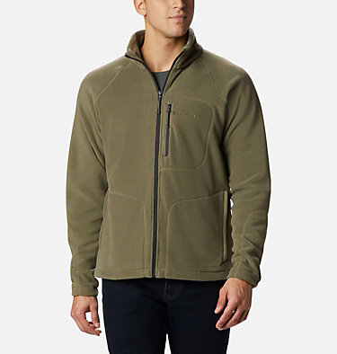 Men's Fast Trek™ II Fleece Jacket Fast Trek™ II Full Zip Fleece | 370 | XS, Stone Green, front