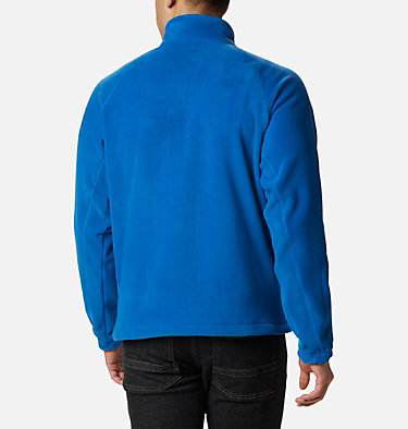 Men's Fast Trek™ II Fleece Jacket Fast Trek™ II Full Zip Fleece | 370 | XS, Bright Indigo, back