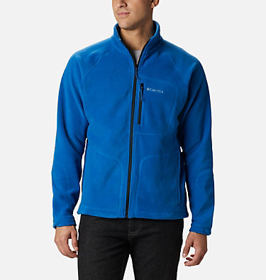Men's Fast Trek™ II Fleece Jacket Fast Trek™ II Full Zip Fleece | 370 | XS, Bright Indigo, front