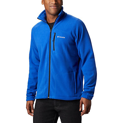Men's Fast Trek™ II Fleece Jacket Fast Trek™ II Full Zip Fleece | 370 | XS, Azul, Black, front