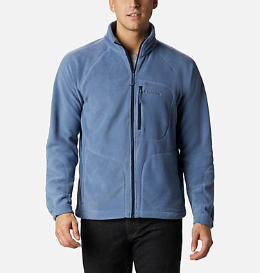 Men's Fast Trek™ II Fleece Jacket Fast Trek™ II Full Zip Fleece | 370 | XS, Bluestone, Collegiate Navy, front