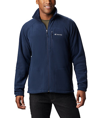 Men's Fast Trek™ II Fleece Jacket Fast Trek™ II Full Zip Fleece | 370 | XS, Collegiate Navy, Collegiate Navy Zip, front