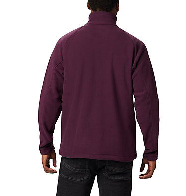 Men's Fast Trek™ II Fleece Jacket Fast Trek™ II Full Zip Fleece | 370 | XS, Black Cherry, Shark, back