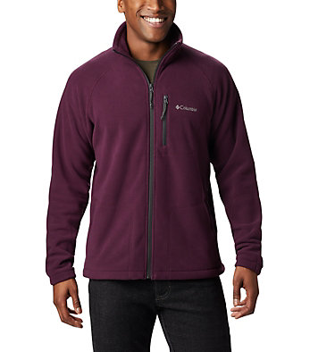 Men's Fast Trek™ II Fleece Jacket Fast Trek™ II Full Zip Fleece | 370 | XS, Black Cherry, Shark, front