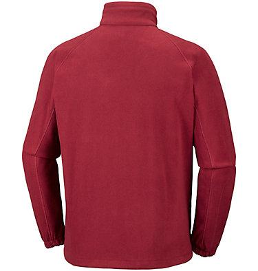 Men's Fast Trek™ II Fleece Jacket Fast Trek™ II Full Zip Fleece | 370 | XS, Red Element, Collegiate Navy, back