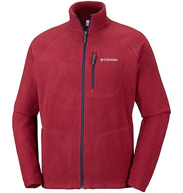 Men's Fast Trek™ II Fleece Jacket Fast Trek™ II Full Zip Fleece | 370 | XS, Red Element, Collegiate Navy, front