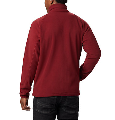 Men's Fast Trek™ II Fleece Jacket Fast Trek™ II Full Zip Fleece | 010 | XS, Red Jasper, Dark Mountain, back
