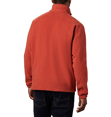 Men's Fast Trek™ II Fleece Jacket Fast Trek™ II Full Zip Fleece | 370 | XS, Carnelian Red, back