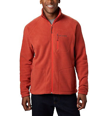 Men's Fast Trek™ II Fleece Jacket Fast Trek™ II Full Zip Fleece | 010 | XS, Carnelian Red, front