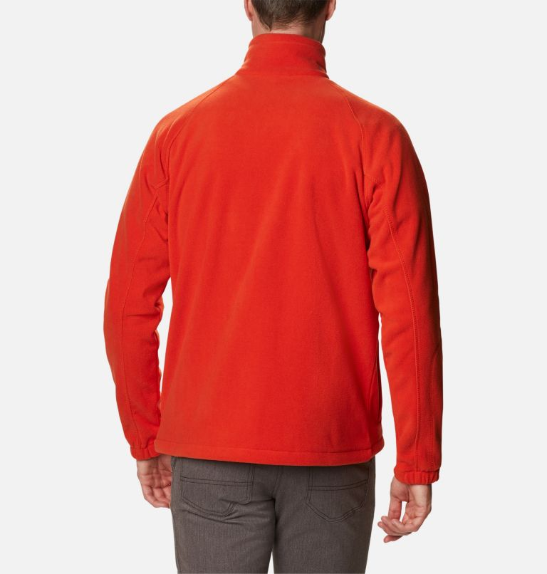 Fast Trek™ II Full Zip Fleece | 846 | XXL Sudadera con cremallera completa Fast Trek™ II para hombre, Bonfire, Shark, back