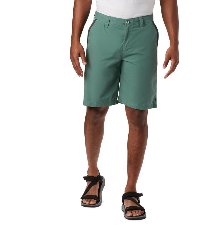 Washed Out™ Short | 369 | 44 Men's Washed Out™ Shorts, Thyme Green, front