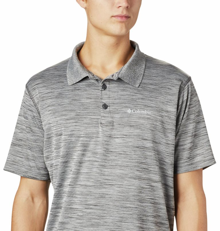 Zero Rules™ Polo Shirt | 012 | M Men's Zero Rules™ Polo, Shark Heather, a2