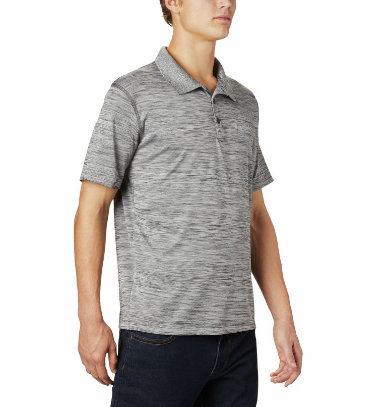 Zero Rules™ Polo Shirt | 012 | M Men's Zero Rules™ Polo, Shark Heather, a3