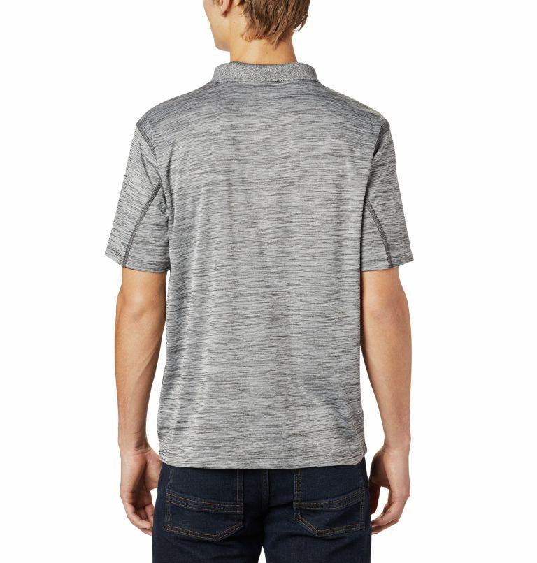 Zero Rules™ Polo Shirt | 012 | XL Men's Zero Rules™ Polo, Shark Heather, back