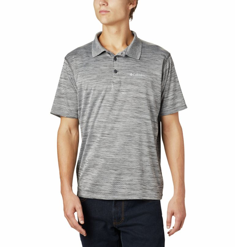 Zero Rules™ Polo Shirt | 012 | M Men's Zero Rules™ Polo, Shark Heather, front