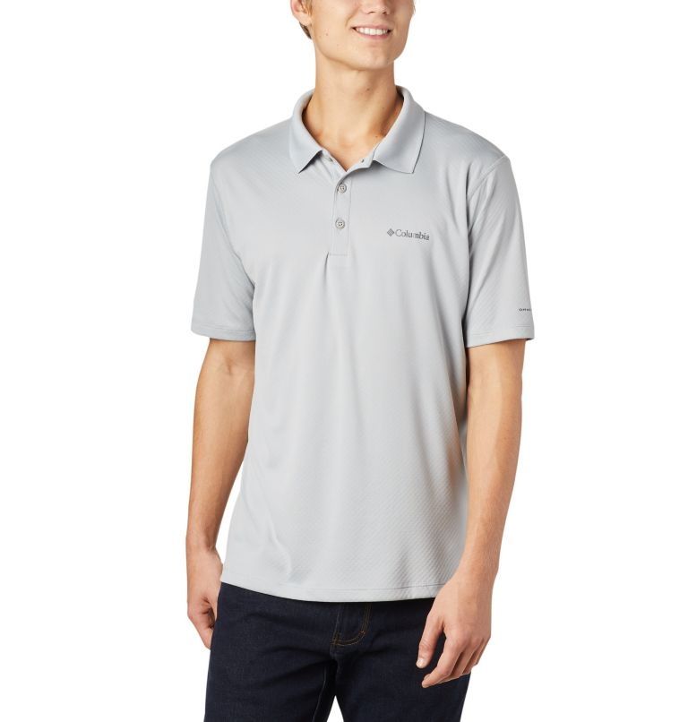 Zero Rules™ Polo Shirt   039   S Men's Zero Rules™ Polo, Columbia Grey, front