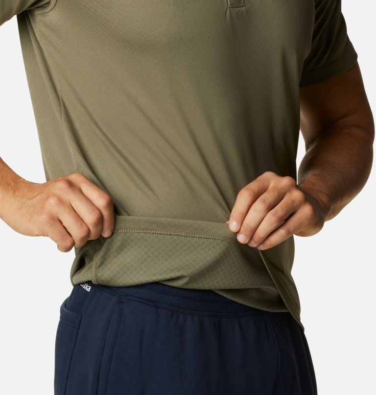 Zero Rules™ Polo Shirt | 397 | XS Men's Zero Rules™ Polo, Stone Green, a3