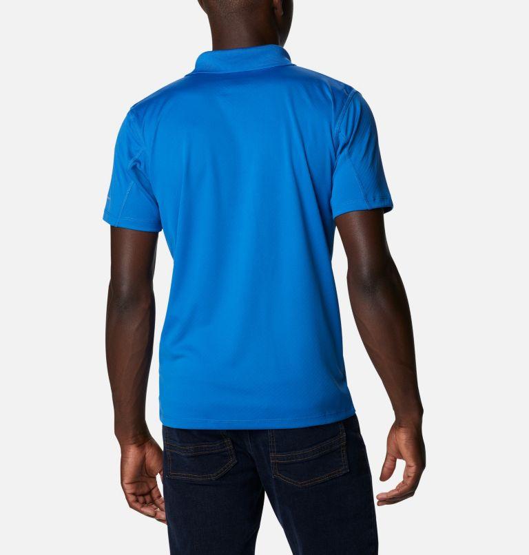 Zero Rules™ Polo Shirt | 432 | XS Men's Zero Rules™ Polo, Bright Indigo, back