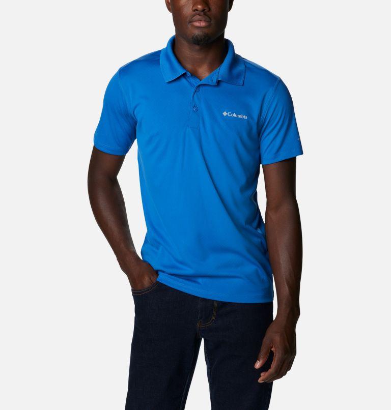 Zero Rules™ Polo Shirt   432   S Men's Zero Rules™ Polo, Bright Indigo, front