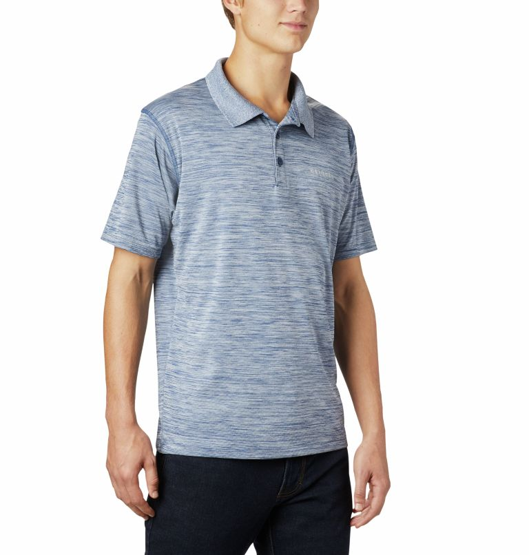 Zero Rules™ Polo Shirt   469   S Men's Zero Rules™ Polo, Carbon Heather, a3
