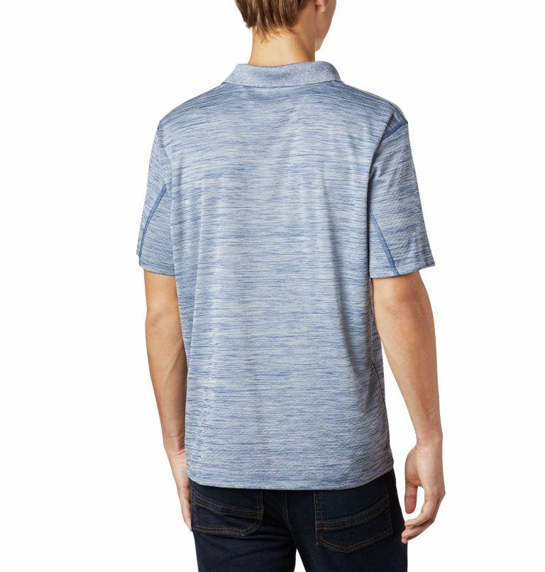 Zero Rules™ Polo Shirt   469   S Men's Zero Rules™ Polo, Carbon Heather, back
