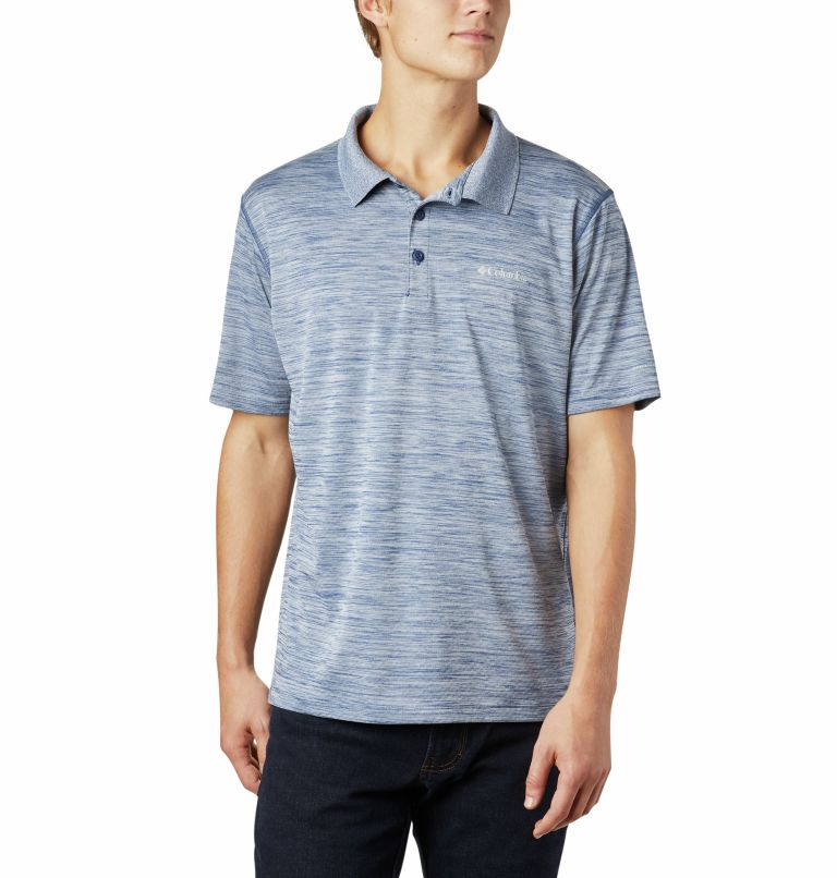 Zero Rules™ Polo Shirt   469   S Men's Zero Rules™ Polo, Carbon Heather, front