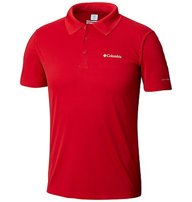 Men's Zero Rules™ Polo Zero Rules™ Polo Shirt | 039 | S, Mountain Red, front