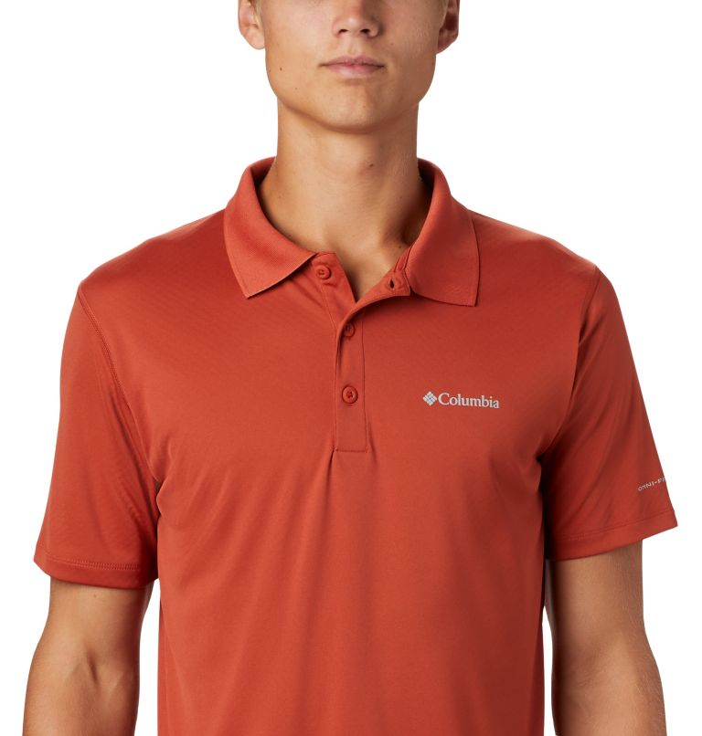 Zero Rules™ Polo Shirt   835   S Men's Zero Rules™ Polo, Carnelian Red, a1