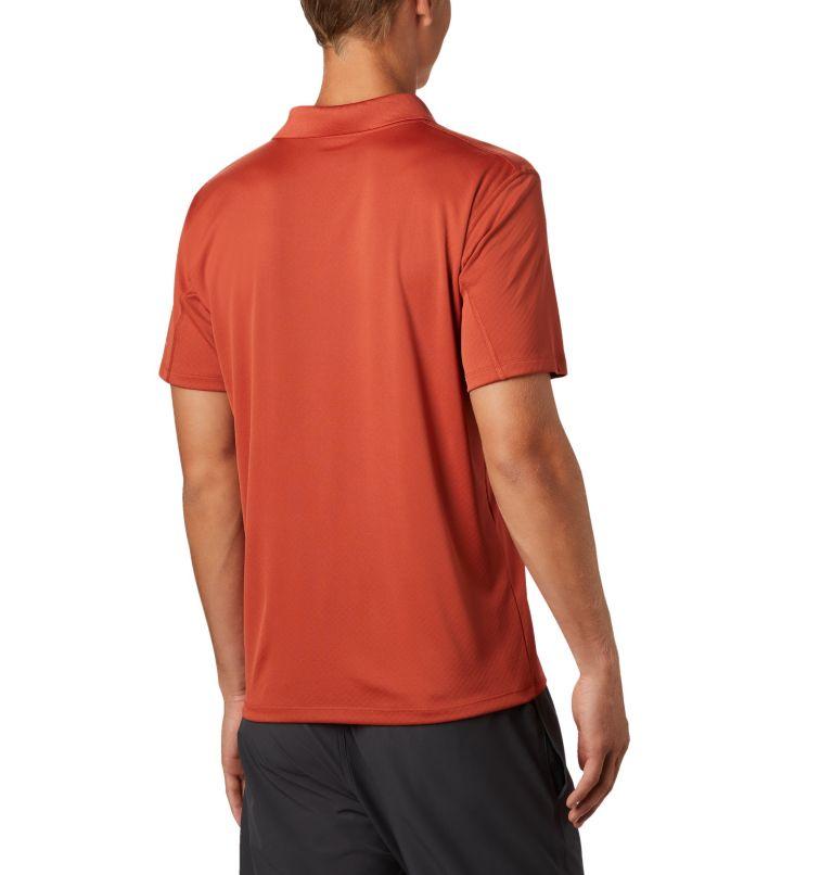 Zero Rules™ Polo Shirt | 835 | L Men's Zero Rules™ Polo, Carnelian Red, back
