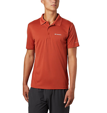 Men's Zero Rules™ Polo Zero Rules™ Polo Shirt | 039 | S, Carnelian Red, front